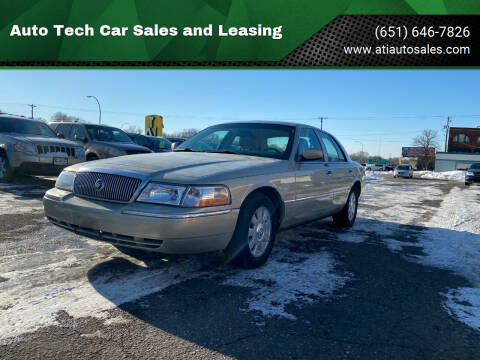 2005 Mercury Grand Marquis for sale at Auto Tech Car Sales and Leasing in Saint Paul MN