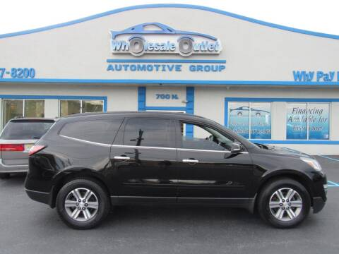 2016 Chevrolet Traverse for sale at The Wholesale Outlet in Blackwood NJ