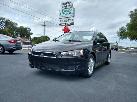 2014 Mitsubishi Lancer for sale at BAYSIDE AUTOMALL in Lakeland FL