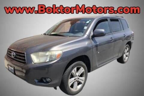 2008 Toyota Highlander for sale at Boktor Motors in North Hollywood CA