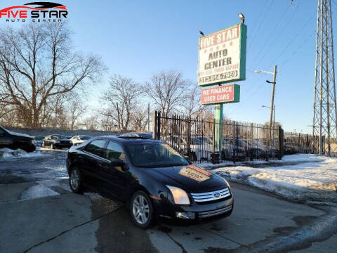 2007 Ford Fusion for sale at Five Star Auto Center in Detroit MI