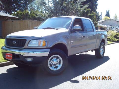 2001 Ford F-150 for sale at Redline Auto Sales in Vancouver WA