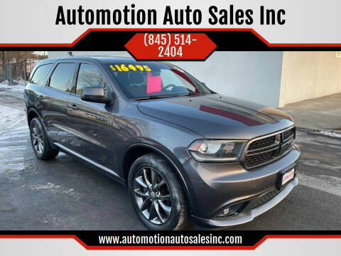 2014 Dodge Durango for sale at Automotion Auto Sales Inc in Kingston NY