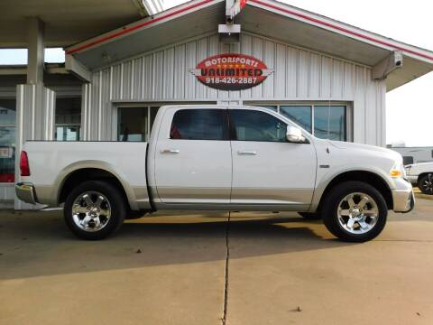 2011 RAM Ram Pickup 1500 for sale at Motorsports Unlimited in McAlester OK