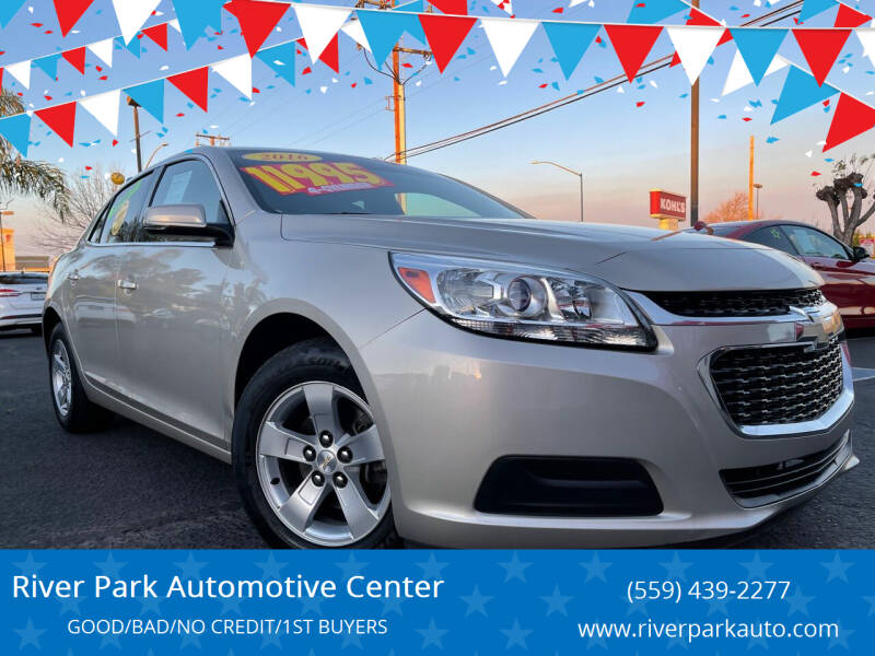 2016 Chevrolet Malibu Limited for sale at River Park Automotive Center in Fresno CA