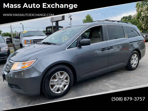 2012 Honda Odyssey for sale at Mass Auto Exchange in Framingham MA