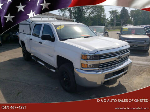 2015 Chevrolet Silverado 2500HD for sale at D & D Auto Sales Of Onsted in Onsted MI