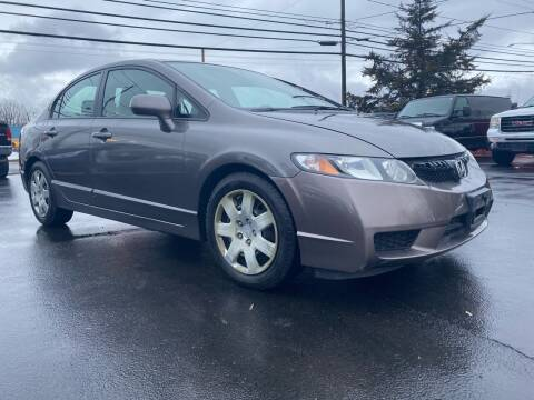 2010 Honda Civic for sale at Action Automotive Service LLC in Hudson NY