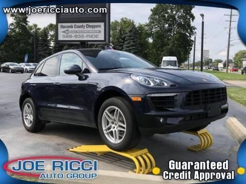 2018 Porsche Macan for sale at JOE RICCI AUTOMOTIVE in Clinton Township MI