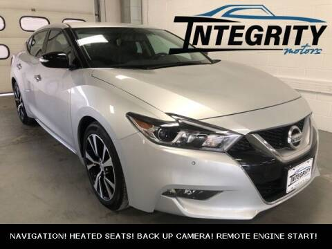 2018 Nissan Maxima for sale at Integrity Motors, Inc. in Fond Du Lac WI