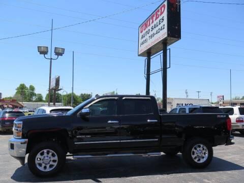 2015 Chevrolet Silverado 2500HD for sale at United Auto Sales in Oklahoma City OK