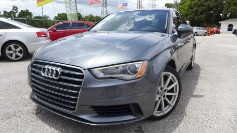 2015 Audi A3 for sale at Das Autohaus Quality Used Cars in Clearwater FL