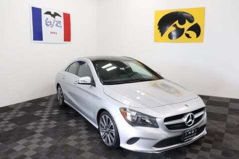 2018 Mercedes-Benz CLA for sale at Carousel Auto Group in Iowa City IA