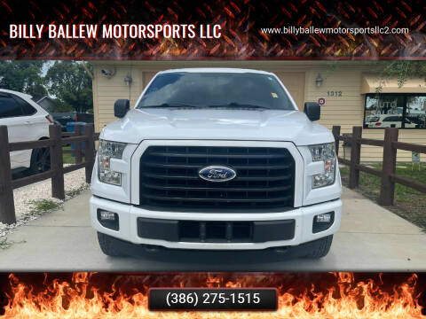 2016 Ford F-150 for sale at Billy Ballew Motorsports LLC in Daytona Beach FL