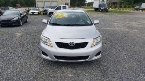 2010 Toyota Corolla for sale at Auto Guarantee, LLC in Eunice LA