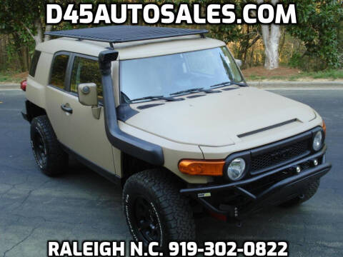 2007 Toyota FJ Cruiser for sale at D45 Auto Brokers in Raleigh NC