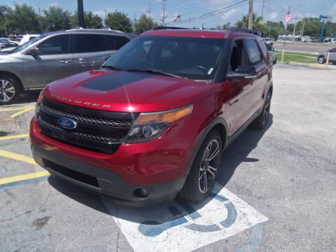 2015 Ford Explorer for sale at ORANGE PARK AUTO in Jacksonville FL