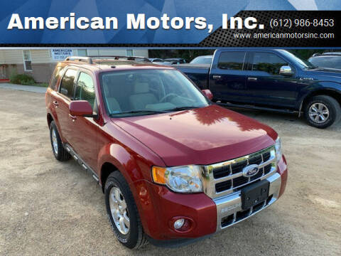 2012 Ford Escape for sale at American Motors, Inc. in Farmington MN