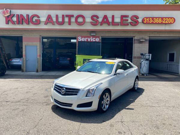 2014 Cadillac ATS for sale at KING AUTO SALES  II in Detroit MI