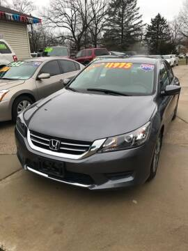 2015 Honda Accord for sale at 3M AUTO GROUP in Elkhart IN