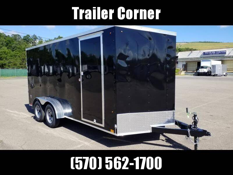 2021 Look Trailers STLC 7X16 EXTRA HEIGHT
