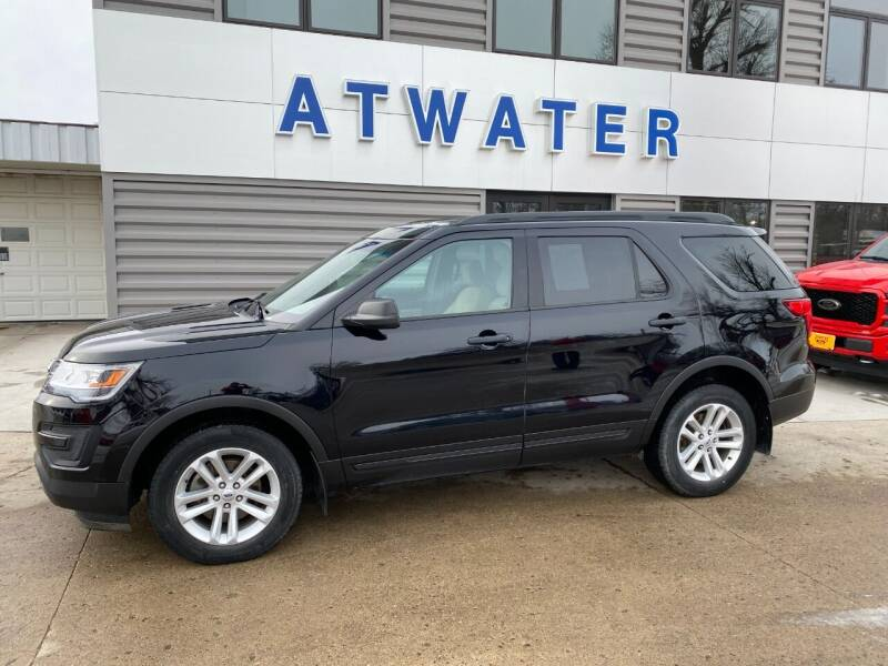 2017 Ford Explorer for sale at Atwater Ford Inc in Atwater MN