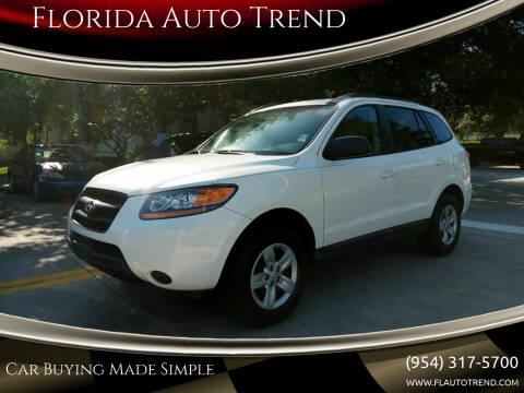 2009 Hyundai Santa Fe for sale at Florida Auto Trend in Plantation FL