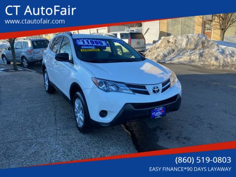 2014 Toyota RAV4 for sale at CT AutoFair in West Hartford CT