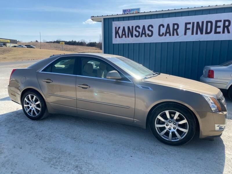 2008 Cadillac CTS for sale at Kansas Car Finder in Valley Falls KS