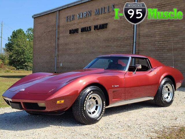 1974 Chevrolet Corvette for sale at I-95 Muscle in Hope Mills NC