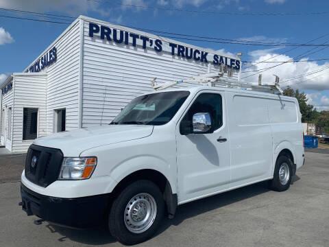 2016 Nissan NV Cargo for sale at Pruitt's Truck Sales in Marietta GA