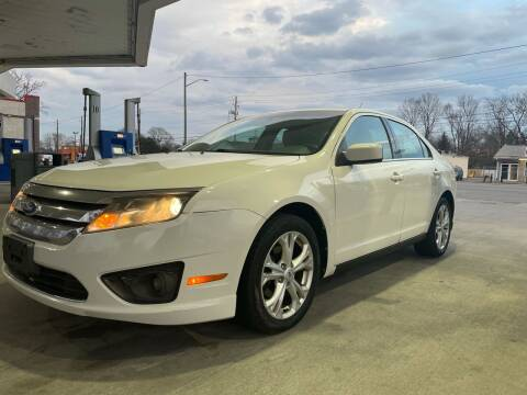 2012 Ford Fusion for sale at JE Auto Sales LLC in Indianapolis IN