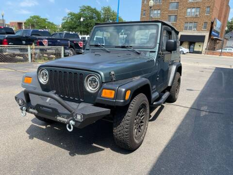 2004 Jeep Wrangler for sale at H C Motors in Royal Oak MI