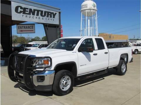 2018 GMC Sierra 2500HD for sale at CENTURY TRUCKS & VANS in Grand Prairie TX