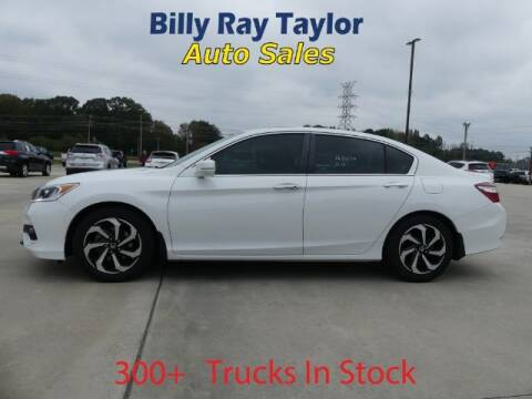 2016 Honda Accord for sale at Billy Ray Taylor Auto Sales in Cullman AL