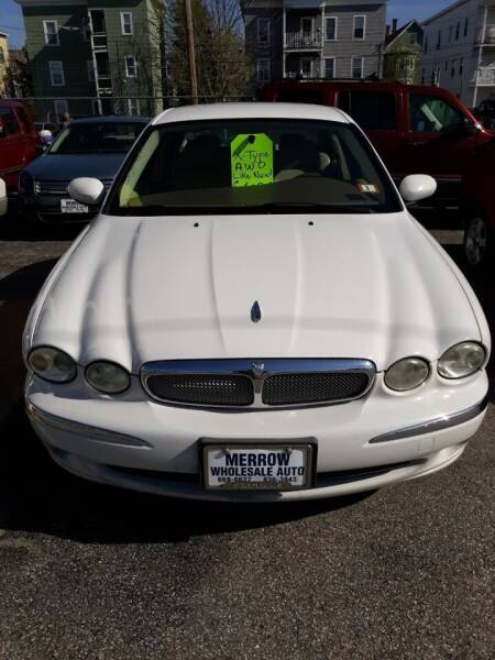 2006 Jaguar X-Type for sale at MERROW WHOLESALE AUTO in Manchester NH