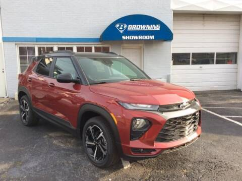 2021 Chevrolet TrailBlazer for sale at Browning Chevrolet in Eminence KY
