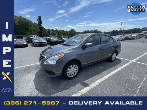 2019 Nissan Versa for sale at Impex Auto Sales in Greensboro NC