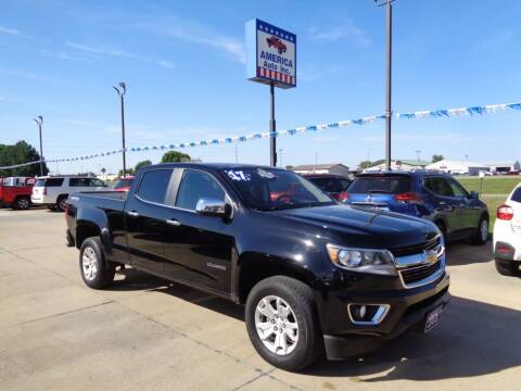 2017 Chevrolet Colorado for sale at America Auto Inc in South Sioux City NE