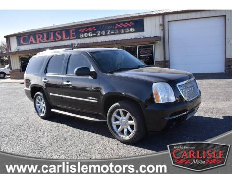 2010 GMC Yukon for sale at Carlisle Motors in Lubbock TX