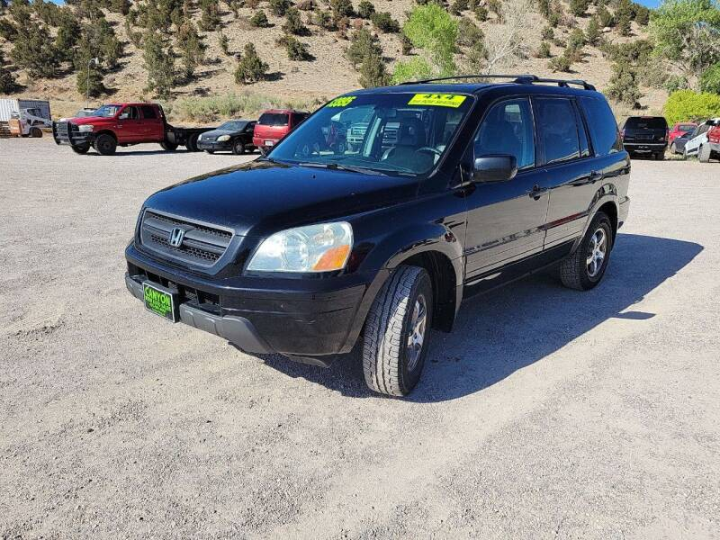 2005 Honda Pilot for sale at Canyon View Auto Sales in Cedar City UT