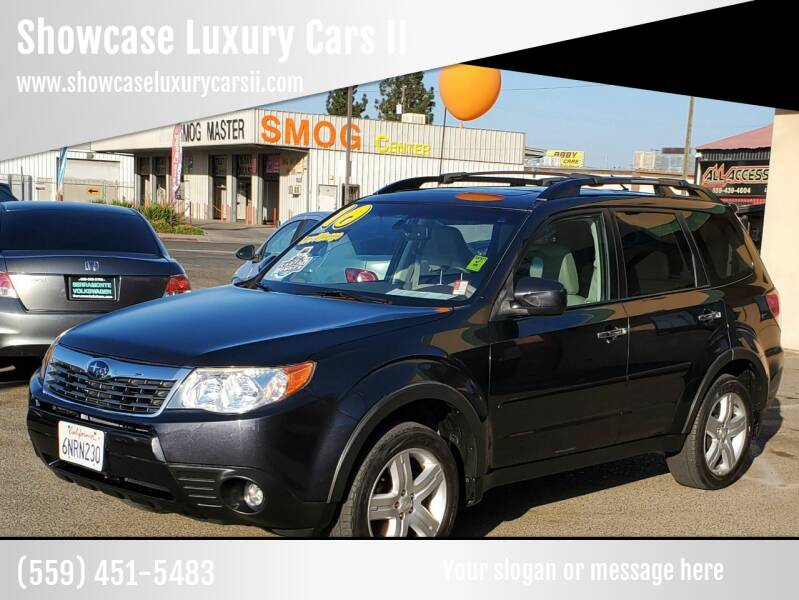 2010 Subaru Forester for sale at Showcase Luxury Cars II in Fresno CA