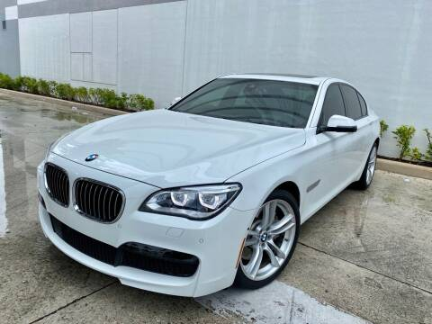 2015 BMW 7 Series for sale at Auto Beast in Fort Lauderdale FL