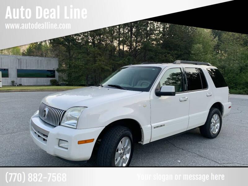 2008 Mercury Mountaineer for sale at Auto Deal Line in Alpharetta GA