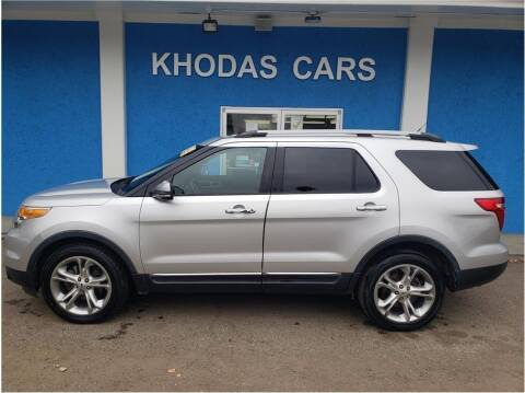 2013 Ford Explorer for sale at Khodas Cars in Gilroy CA