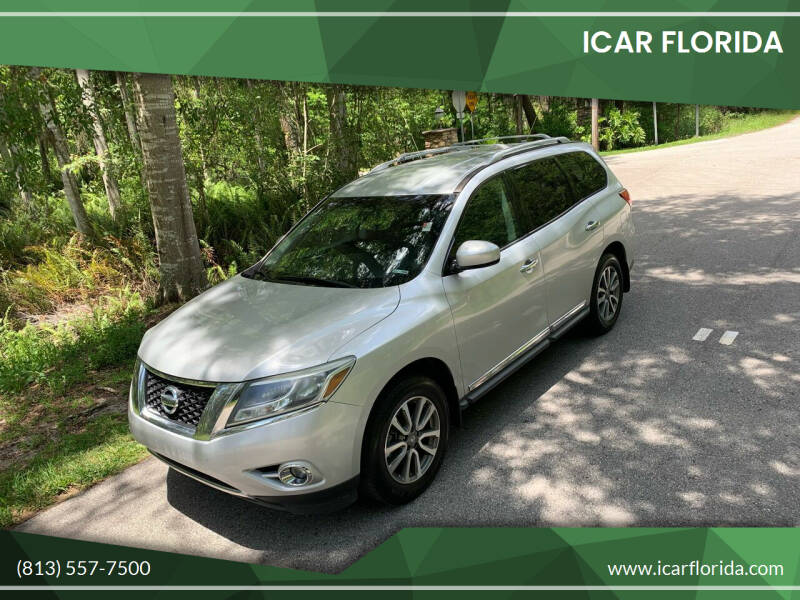 2013 Nissan Pathfinder for sale at ICar Florida in Lutz FL
