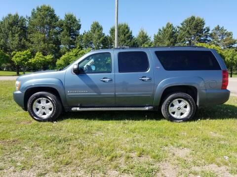 2008 Chevrolet Suburban for sale at Toy Barn Motors in New York Mills MN