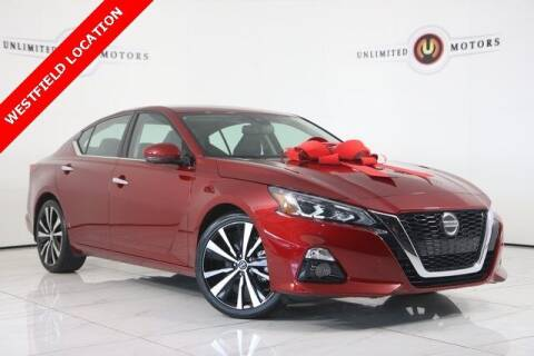 2020 Nissan Altima for sale at INDY'S UNLIMITED MOTORS - UNLIMITED MOTORS in Westfield IN