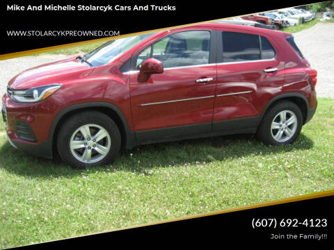 2018 Chevrolet Trax for sale at Mike and Michelle Stolarcyk Cars and Trucks in Whitney Point NY
