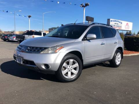 2007 Nissan Murano for sale at BOARDWALK MOTOR COMPANY in Fairfield CA